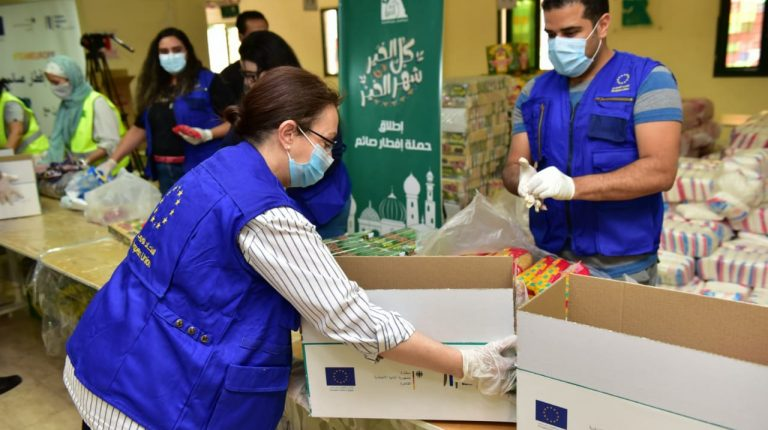 Team Europe initiative provided support to 2,000 families in Egypt