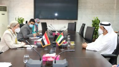 Egypt Environment Minister, UAE Ambassador discuss cooperation on waste management projects