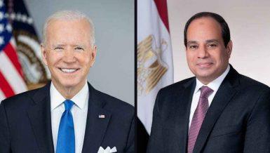 Al-Sisi, Biden discuss Gaza ceasefire, Libya, GERD dispute
