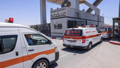 Egypt plans 165 ambulances to transfer Gaza injured to hospital