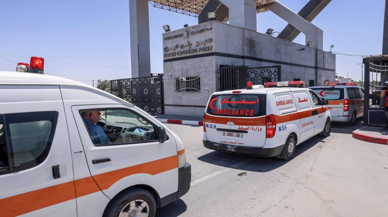 Egypt plans 165 ambulances to transfer Gaza injured to hospital