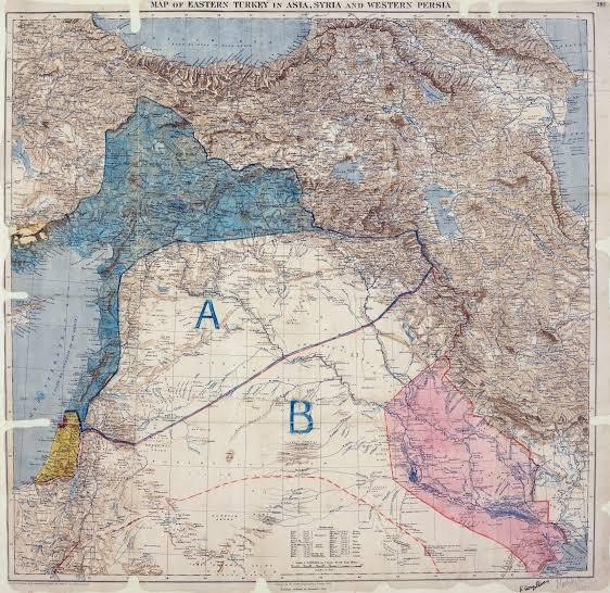 Sykes-Picot Agreement: Western colonialism dividing Arab world