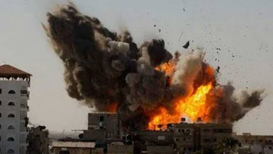 Israel bombs alleged tunnels in Gaza as Israeli aggression enters 2nd week