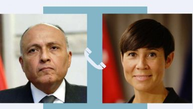 Egypt, Norway discuss reconstruction process in Palestine