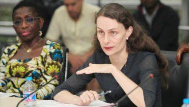 Celine Allard, IMF Mission Chief for Egypt