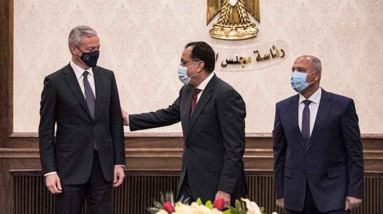 France to offer €1.8bn finance to Egyptian development projects