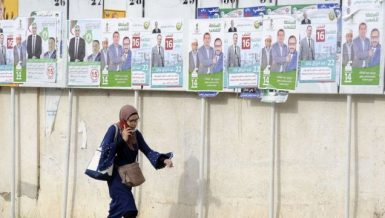 Algerian voters cast ballots in 1st parliamentary election since popular movement