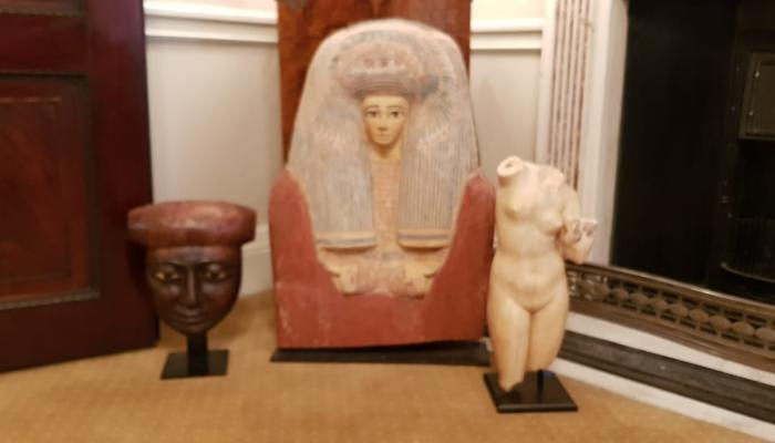Egypt recovers 114 artefacts smuggled to France