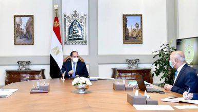 Egypt's Al-Sisi follows up on latest developments of ATS smart transport system