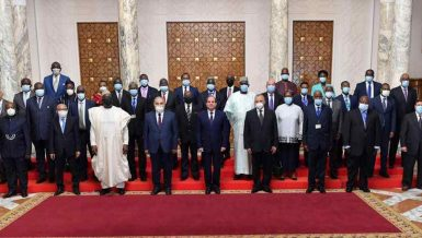 Egypt's Al-Sisi receives high-level African judges