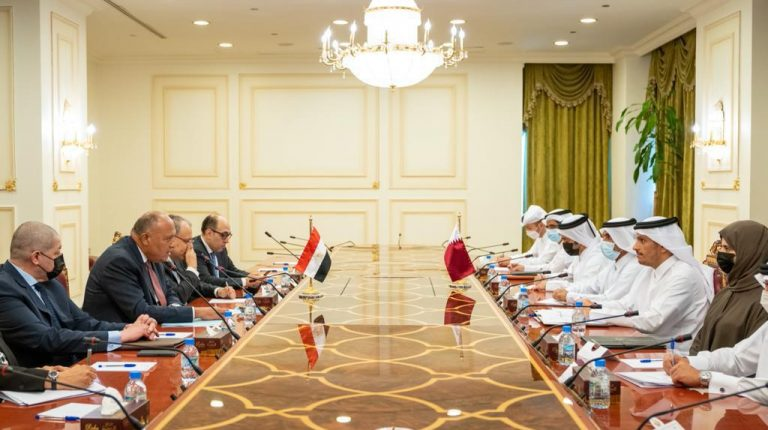 Shoukry in Qatar to discuss bilateral relations, regional issues