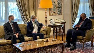 Egypt, EU agree on reviving peace negotiations in Middle East