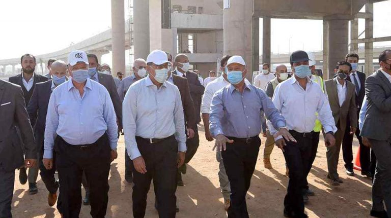 Madbouly inspects new transportation projects in Greater Cairo