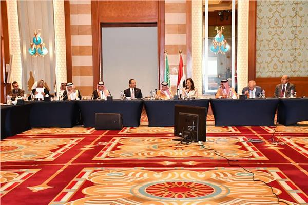 Egypt's Planning Minister meets Saudi Commerce Minister, accompanying business delegation