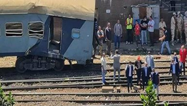 Train collision in Alexandria sees 40 injured, no deaths reported