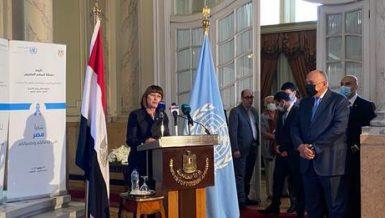 Egypt contributes largely to peacekeeping, peacebuilding across world: Elena Panova