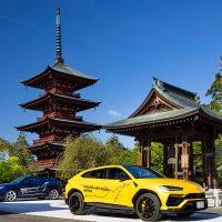 Two Lamborghini Urus crossovers complete 6,500 km tour across Japan