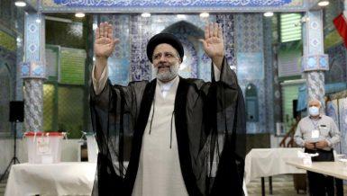 Iran's Interior Ministry said Ebrahim Raisi has won the country's presidential election.