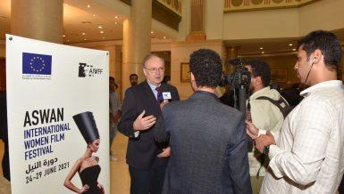 2021 Aswan Women Film Festival enjoys EU, Mediterranean input: EU Ambassador