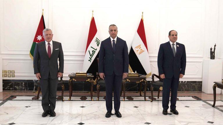 Egypt, Jordan, and Iraq hold tripartite summit to address Mideast issues