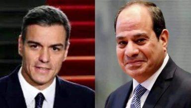 Egypt's Al-Sisi phones Spanish PM over anti-illegal immigration cooperation
