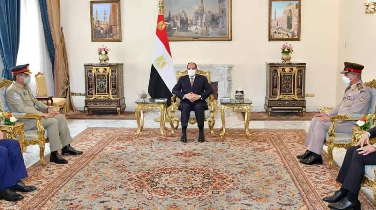 Egypt's Al-Sisi asserts aspirations to develop cooperation with Pakistan