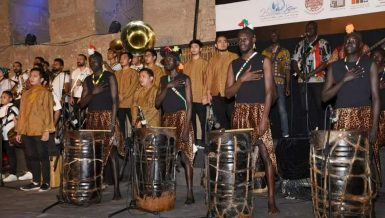30 international troupes take part in Egypt's 8th Festival of Drums and Traditional Arts