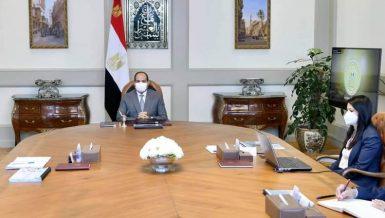 Egypt's Al-Sisi directs further cooperation with international community to support sustainable development