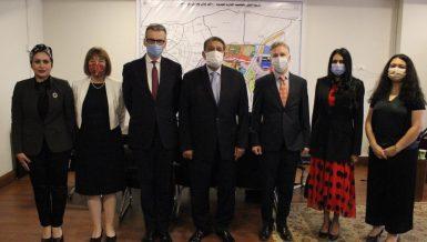 British Ambassador to Egypt visits New Administrative Capital for tour
