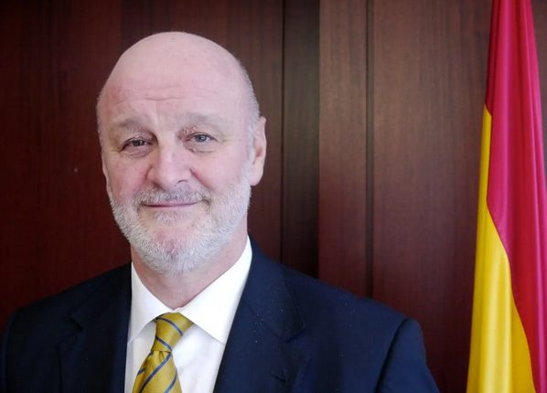 Spain's Ambassador to Egypt Ramón Gil Casares