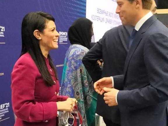 Egypt, Russia discuss bilateral economic, trade cooperation at SPIEF