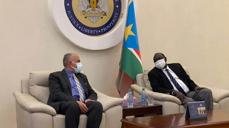 Egypt's Water Resources Minister in South Sudan for cooperation talks