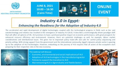 UNIDO helps mainstream Industry 4.0 technologies in Egypt's manufacturing sector