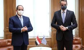Egypt, Greece leaders discuss GERD crisis developments