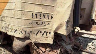 Train crashes in Aswan injuring 5