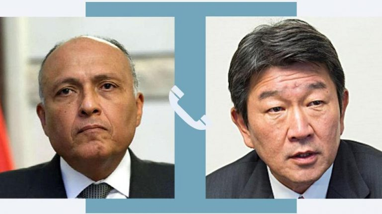 Egypt, Japan discuss recent developments in Palestinian issue