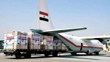 Egypt sends 31 tonnes of medical aid to Tunisia for COVID-19 response