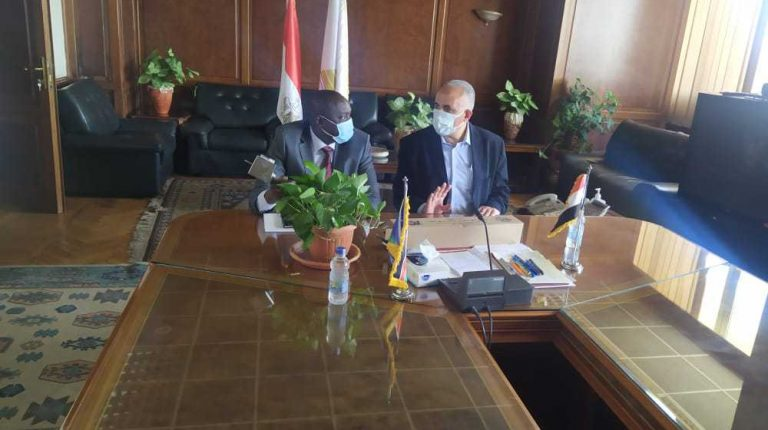 Egypt's Water Resources Minister, South Sudanese counterpart discuss bilateral cooperation