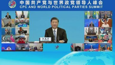 Xi Jinping, general secretary of the Communist Party of China (CPC) Central Committee and Chinese president,