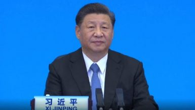 Leave no country, nation behind in pursuit of human well-being: Xi