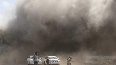Local authorities tighten security measures after blast in Yemen's Aden
