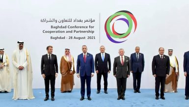 Egypt supports Iraq in achieving stability, fighting against terrorism: President Al-Sisiat Baghdad Summit