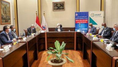 Egypt's Health Minister discusses J&J vaccine supply plan through AVAT