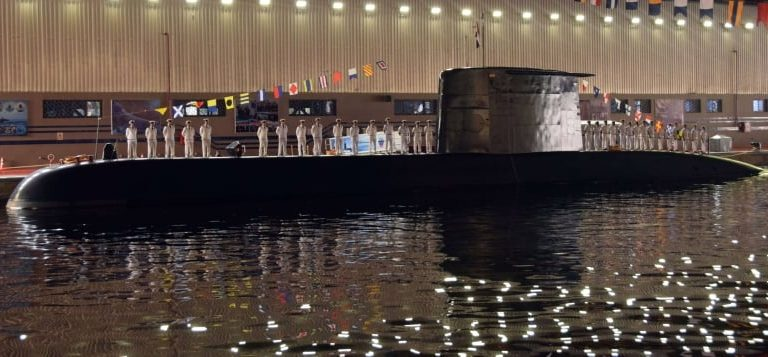 Egypt has received three submarines of the same type between 2017 and 2021.