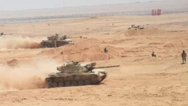 Egyptian Armed Forces carry out 'Badawi 2021' training in Sinai Egyptian Armed Forces carry out 'Badawi 2021' training in Sinai