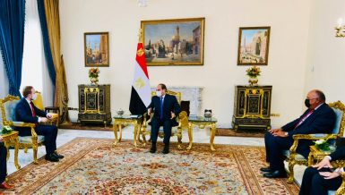 Egypt's Al-Sisi stresses keenness to develop bilateral relations with Czech Republic