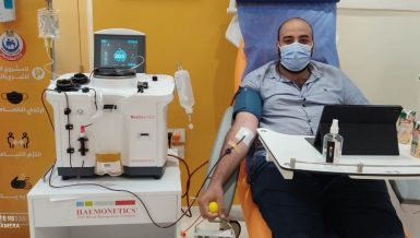 Egypt's plasma collection centres receive 1,320 donors since 14 July: Health Minister