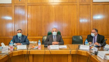Meeting also discussed current flood situation§§