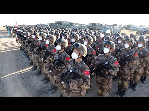 """Peace Mission 2021,"""" a counter-terrorism military exercise for Shanghai Cooperation Organization (SCO) member states, officially started on Monday in Orenburg, Russia."""