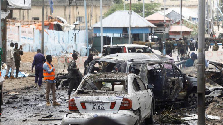 Seven killed in suicide attack near Somalia's presidential palace in Mogadishu